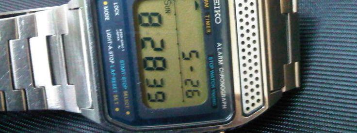 FS : Rare Vintage Seiko Digital Watch A259-5040