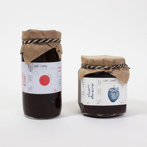 Cat Lady Preserves: Handsomely packaged homemade jams by graphic designer Sumayya Alsenan