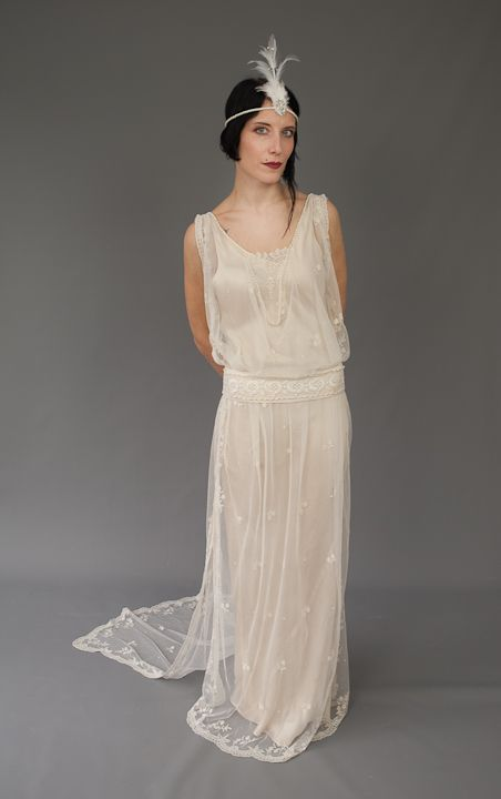1000 images about vintage wedding dresses on pinterest for Vintage 20s wedding dresses