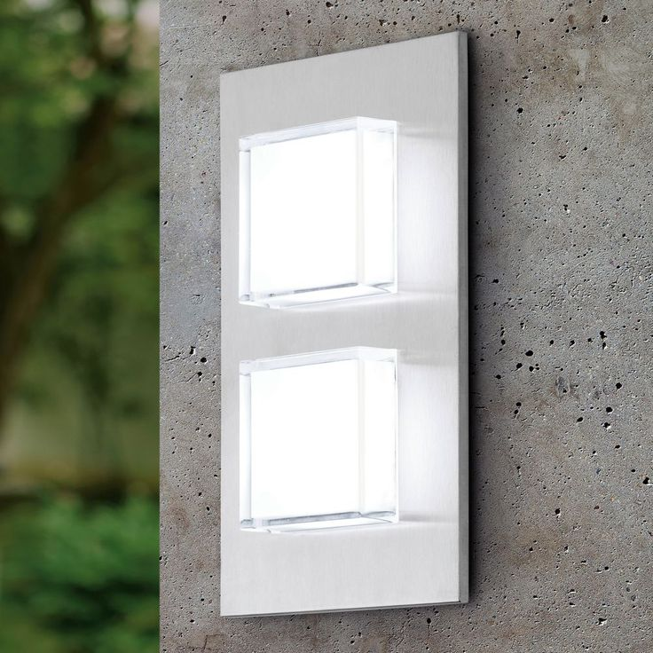 Wall Mounted Lights - The Eglo Pias LED Exterior Wall Light is a ...