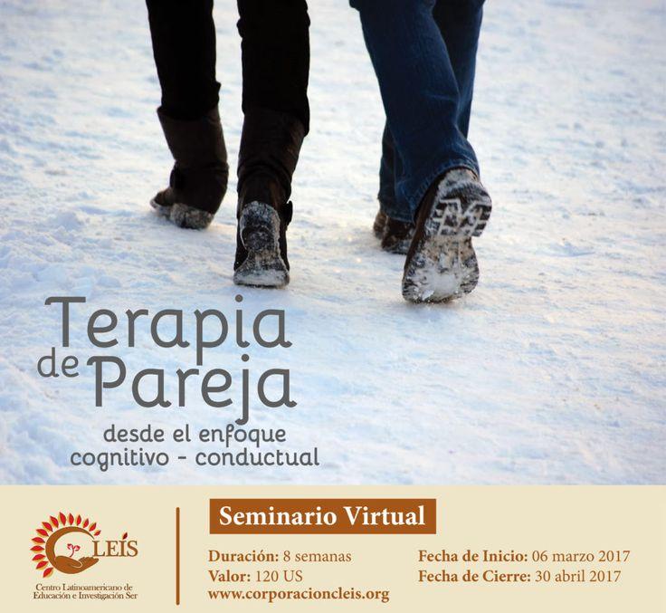 Seminario: Terapia de pareja desde el enfoque cognitivo-conductual | Corporación Cleis