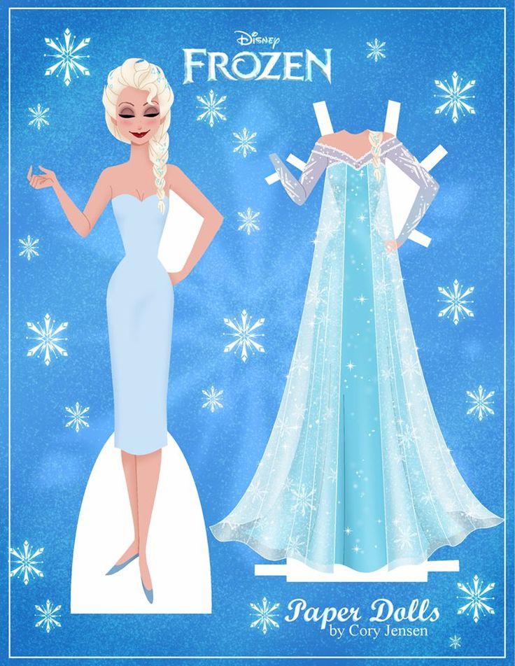 Disney's Frozen Paper Dolls