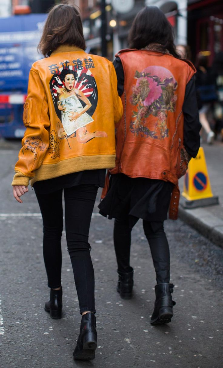 Personalised jackets, monochrome tailoring and metallic footwear, were just some of the trends we spotted out and about at LFW (AW16). Read more on our blog. #newlook