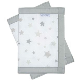 Buy Airwrap™ Printed 2 Sided Cot Bumper - Silver Stars at Argos.co.uk, visit Argos.co.uk to shop online for Cot and bed bumpers