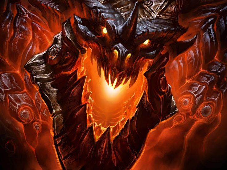 World of Warcraft: Cataclysm Art & Pictures,  Deathwing Face