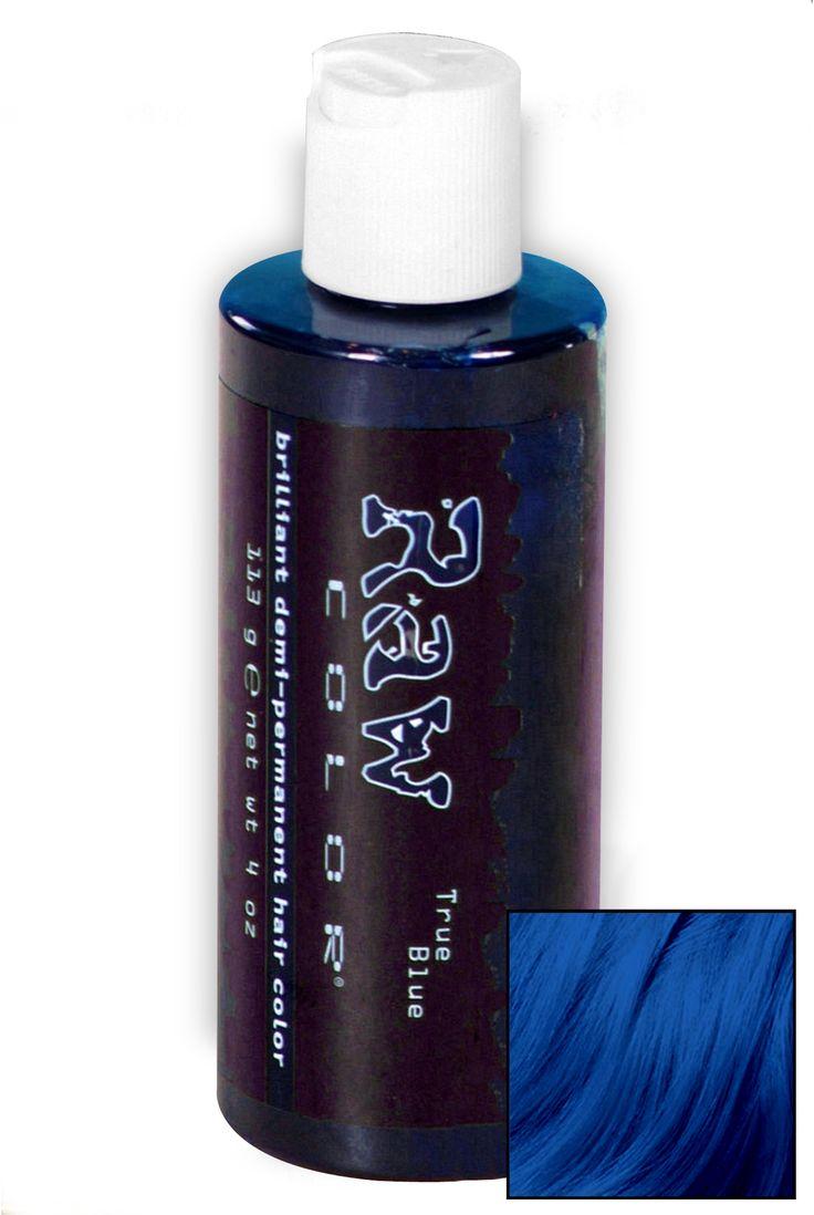 True Blue Raw Hair Dye   Hot Topic   $13
