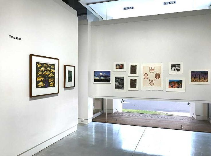 Exhibition Install | Collection of Tess Allas | MAY SPACE Sydney | exhibition enlargement