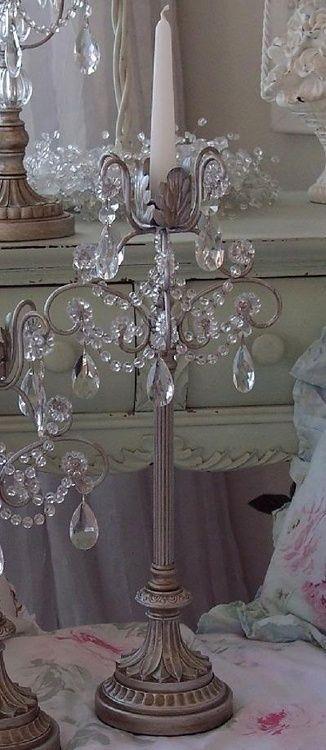 berengia:  lavendar candlestick