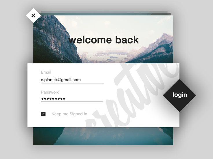 Login user interface I made for fun. Messing around with some UI elements. Press L if you like it!  Follow for more :)