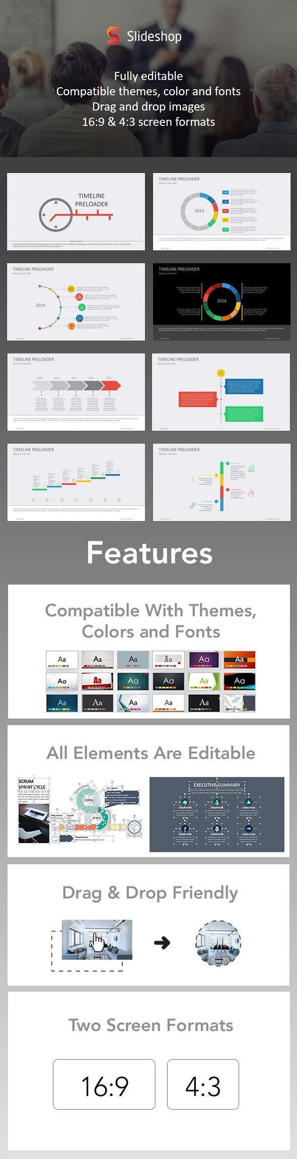 5127 best PowerPoint Templates from 4$ images on Pinterest