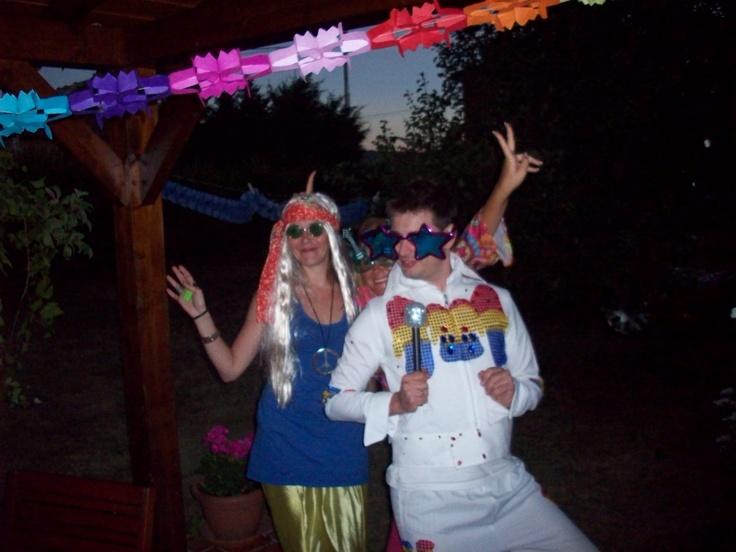 Hippy party. Fiesta hippy