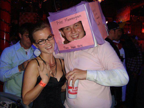 a mammogram machine male diy low budget costume idea