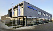 Dit prachtige kantoor- en bedrijfsgebouw heeft Hercuton op bedrijventerrein Dordtse Kil III in Dordrecht turnkey gerealiseerd in opdracht van Kadans Vastgoed voor huurder Allied Motion.