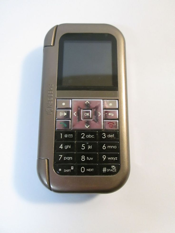 KYOCERA Flip Phone QWERTY  Metallic Brown Lingo? Cricket Phone Only  #Kyocera