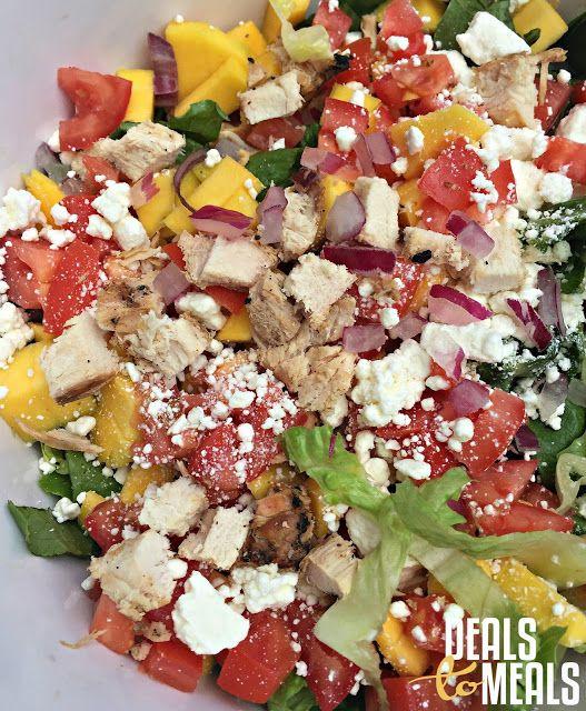 Rumbi Island Grill Voo Doo Chicken Salad {Copycat Recipe} by Deals to Meals