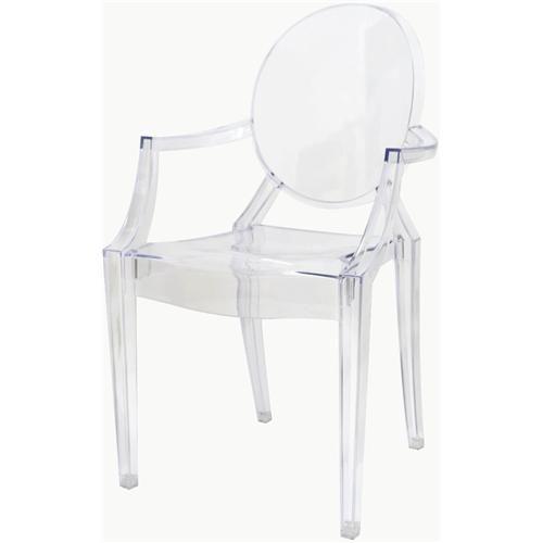 Cadeira Louis Ghost braco - 9525 Sun House