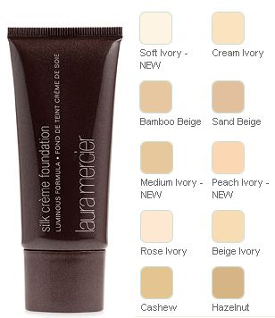 Laura Mercier Silk Creme Foundation - excellent coverage but not suitable for dry or dehydrated skin