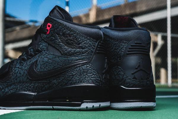 04cff0bca5384f Air Jordan Legacy 312 - Black Varsity Red - Sneaker Politics