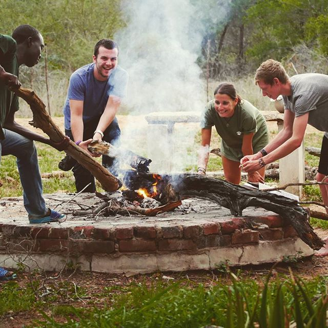 Time to braai at our hub in Limpopo, South Africa!  #gvi #volunteer