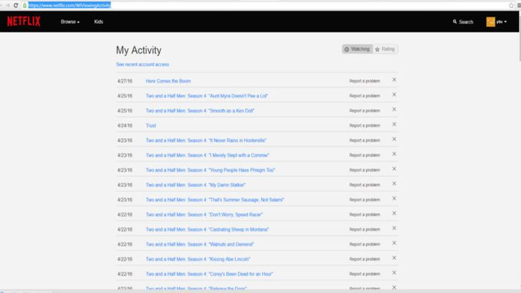 Now you can finally delete your Netflix viewing history! Really useful for shared accounts or to convince your loved one that you would never watch your favorite show together.