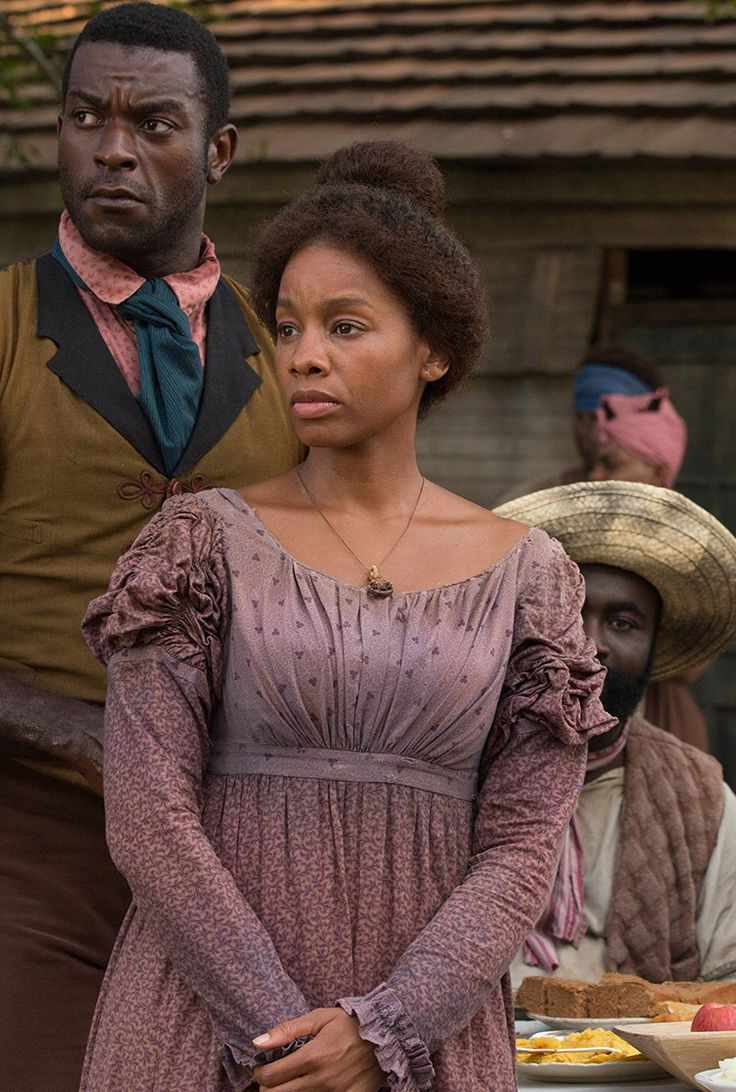 Anika Noni Rose as Kizzy -- Roots Cast -- History.com pictured with Michael James Shaw as Marcellus