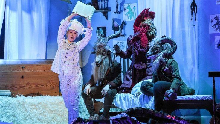 Wie sich Max als König der wilden Kerle austobt begeisterte im Theater Duisburg