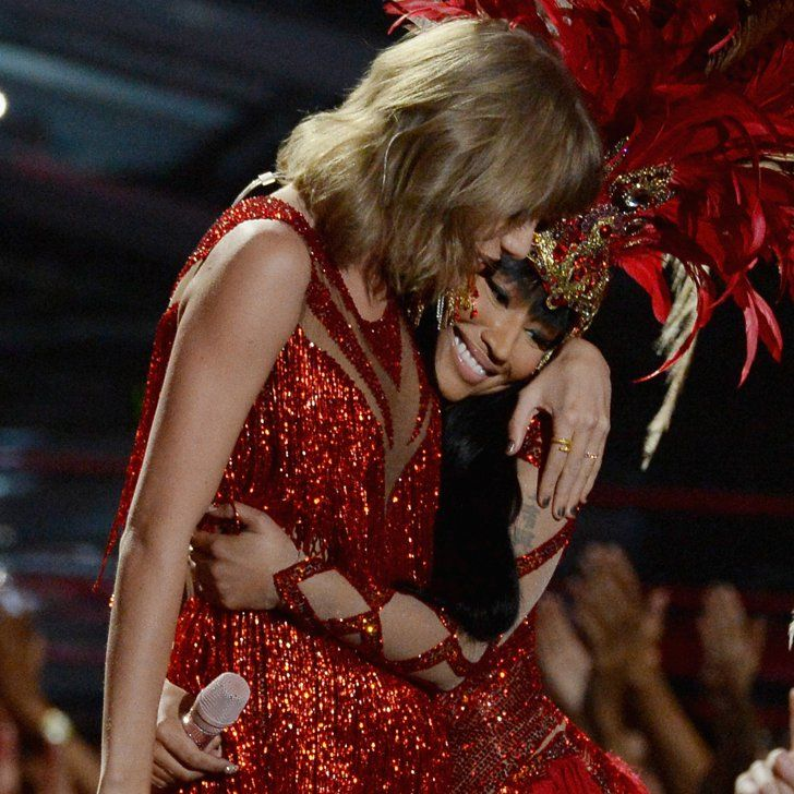 Nicki Minaj Brings Taylor Swift Into Her Opening Number, Ends the Feud