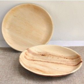 Perfect plates for any occasion. Round Palm Leaf Plates - 26cm - Plates, Bowls & Cutlery - Tableware - Pipii only £12.50 for pack of 25