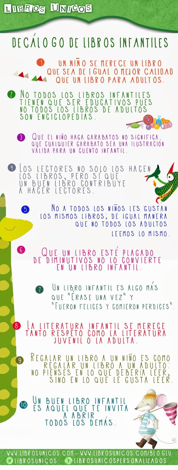 soñando cuentos: DECÁLOGO DE LIBROS INFANTILES.