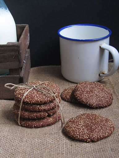 Cocoa and Amaranth Cookies Recipe | Yummly