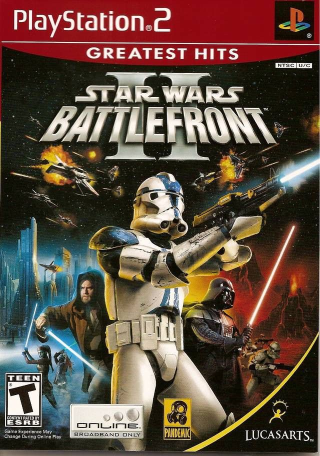Star Wars: Battlefront II (Sony PlayStation 2, 2005) Complete [Greatest Hits] #starwars #videogames #gamersunite