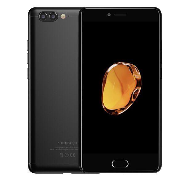 Meiigoo M1 5.5\'\' Dual Rear Cameras 6GB RAM 64GB ROM MTK6757 Helio P20 2.3GHz Octa-Core 4G Smartphone