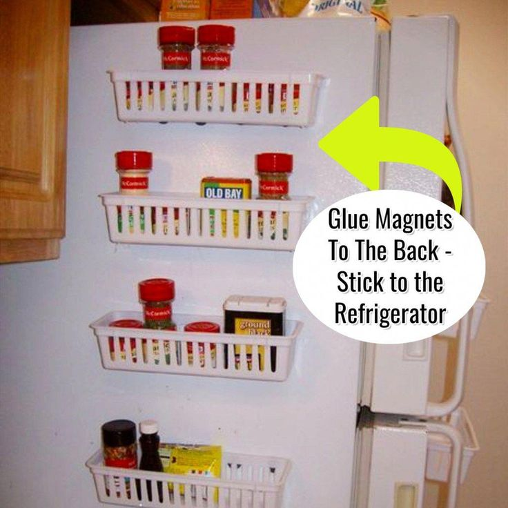 Home organization tips and useful life tips. Short of storage spaces in your kitchen but still want to declutter and get organized? Try this GENIUS hack for small kitchen organization success and storage solutions!