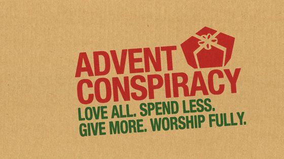 25 best advent conspiracy images on pinterest advent. Black Bedroom Furniture Sets. Home Design Ideas