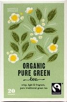 Marks and Spencer Organic Pure Green tea 20 Teabags