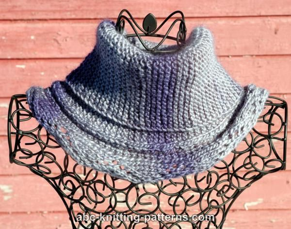 ABC Knitting Patterns - Renaissance Woman Cowl