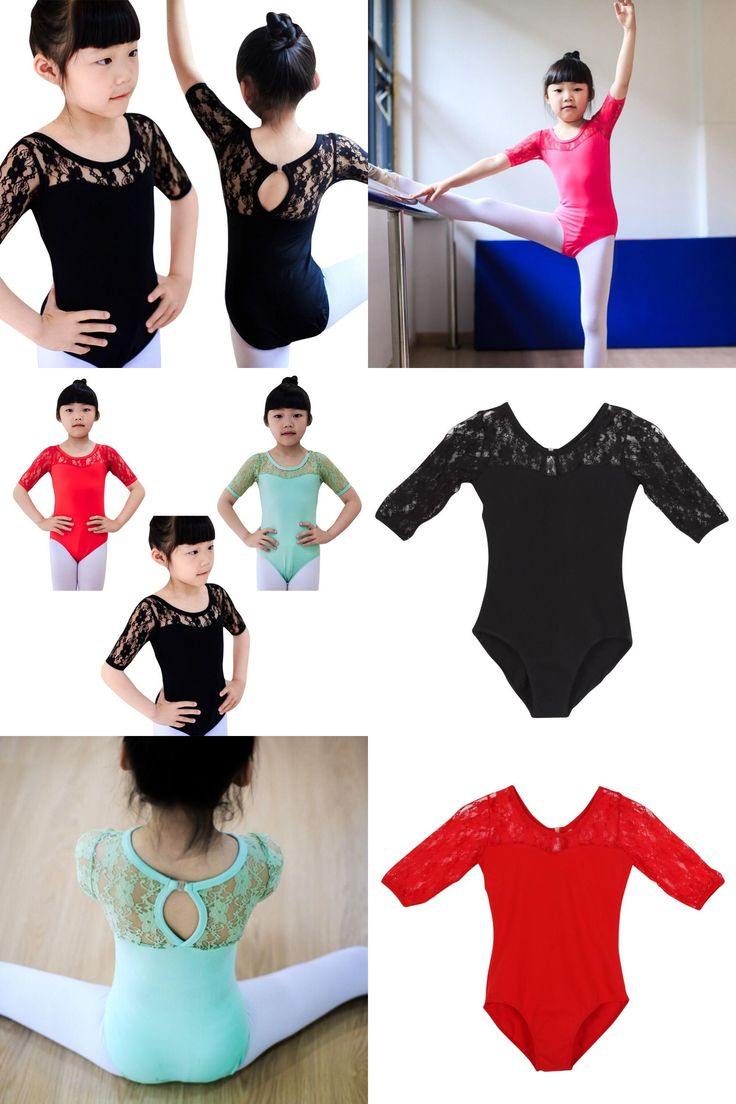 [Visit to Buy] Toddler Girls Gymnastics Leotards Acrobatics for Kids Dance Wear Dress Long Sleeves Athletic Dance Leotards Dress #Advertisement