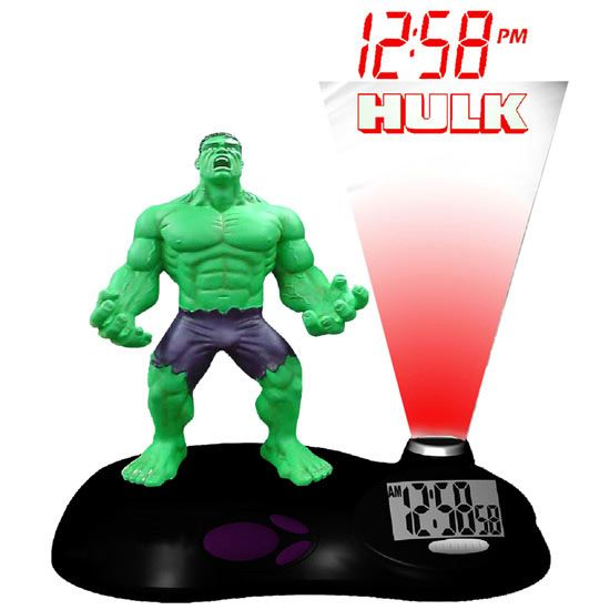 Despertador del Increíble Hulk | Relojes Especiales