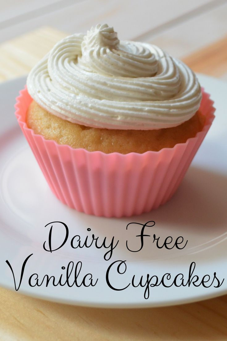 Dairy Free Vanilla Cupcakes & Butterless Buttercream Icing