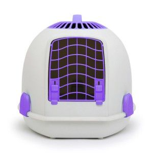 Igloo Cat Carrier - Purrfect Purple. Price £38.00