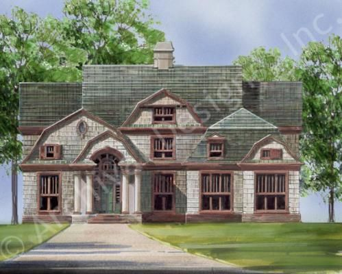 Storrington House Plan - Front Rendering
