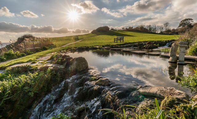 Flowersbrook, Ventnor, Isle of Wight, England   Les Lockhart