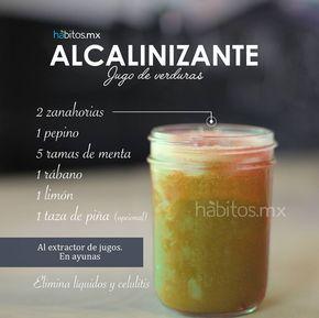 Hábitos Health Coaching   JUGO DE VERDURAS ALCALINIZANTE