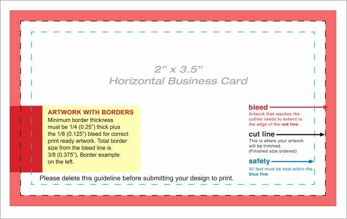 50 Awesome Word Blank Business Card Template In 2020 Business