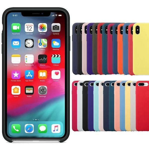 coque iphone 8 plus couleur simple