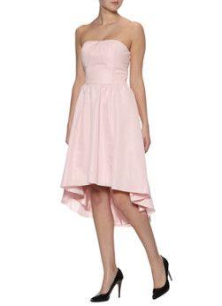 Ted Baker pink strapless jurk Verity