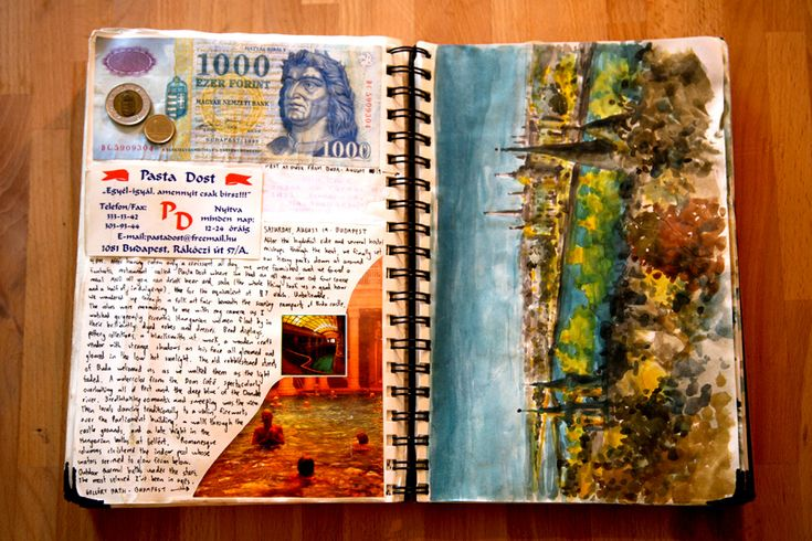45Crafting Art Inspiration, Beautiful Inspiration, Budapest Hungary, Travel Journals, Artists Journals, Art Journals, Journals Ideas, Jonathan Harry, Beautiful Travel