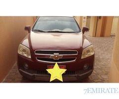 Chevrolet Captiva 2007 GCC Specs for Sale in Abu Dhabi