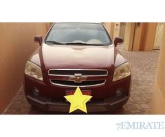 Chevrolet Captiva 2007 GCC Specs for Sale in Abu Dhabi