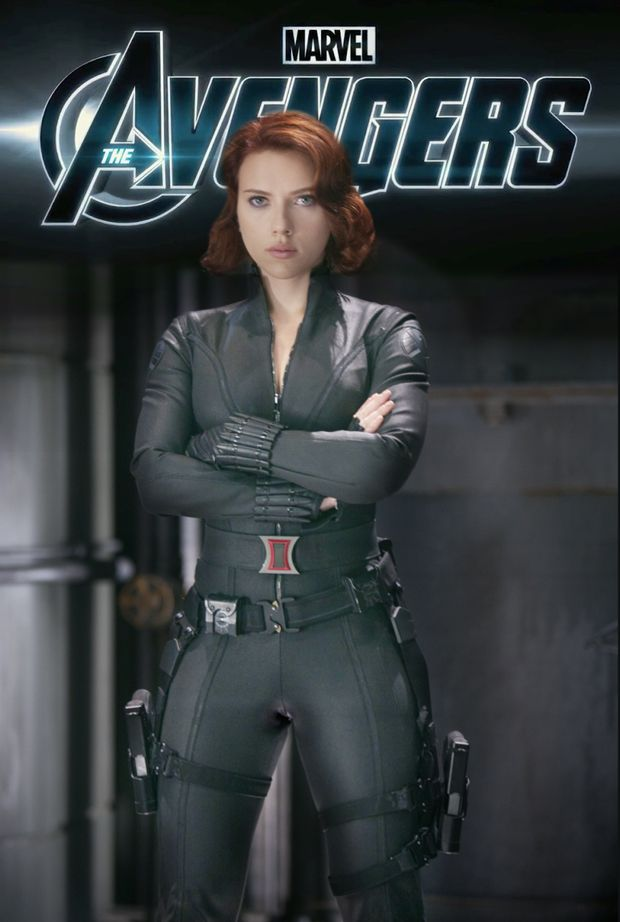 Scarlett Johansson as Black Widow from the Marvel Studios ...